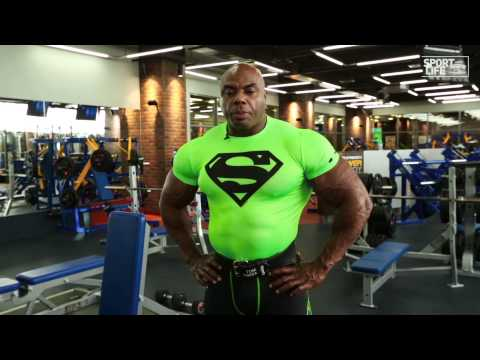 Toney Freeman. Back workout.