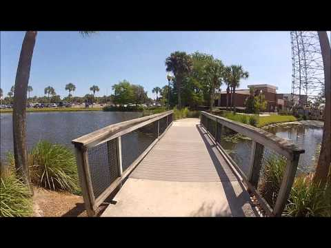 A Fast Tour Around the IRSC Main Campus (Indian River State College)