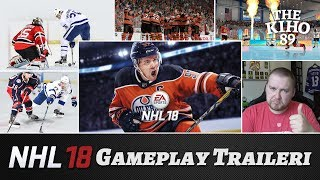 NHL 18: Gameplay Traileri