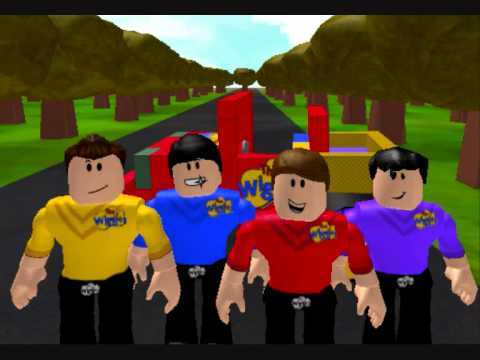 The Wiggles-roblox  - The Monkey Dance video