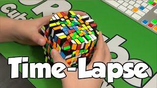 10x10 Barrel Time-Lapse Solve