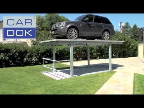 Cardok double your parking space with our high tech for Parking solutions for small spaces