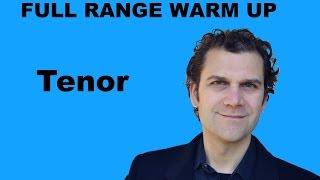 Singing Warm Up - Tenor Full Range