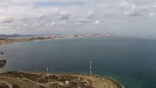 Fly over Faro de Cabo de Palos