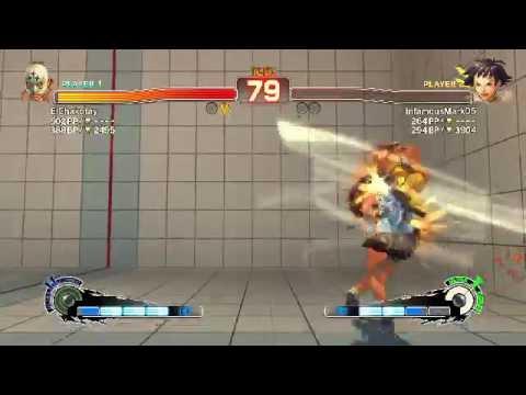 USF4: Chakotay15 (El Fuerte) vs InfamousMark05 (Makoto) OTG x3 Stun Combo???