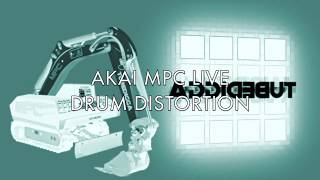 AKAI MPC LIVE:  'Phatter' Drums Using Distortion