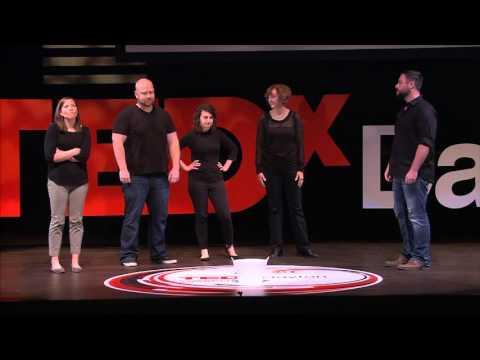 100 Percent Improvised | Black Box Improv Theater | TEDxDayton
