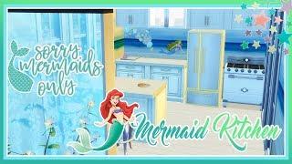 🌞Sims 4 - Small Mermaid Kitchen!💖🍹