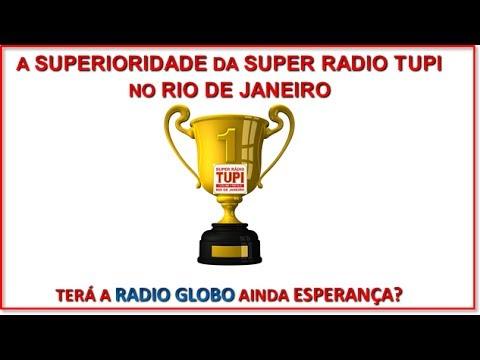 SUPER RADIO TUPI-LIDERANÇA ABSOLUTA NO RIO