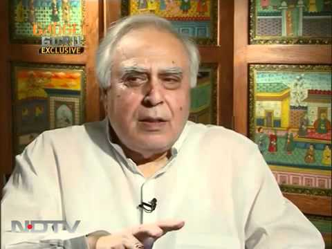 NDTV Exclusive, Kapil Sibal talks about aakash tablet - (SUBI .PILOT)