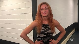 Becky Lynch deals out smiles in Oberhausen
