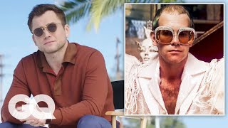 Taron Egerton, Richard Madden and Jamie Bell on Elton John's Iconic Style | GQ