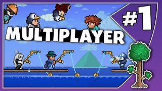 TERRARIA MASS MULTIPLAYER! // Episode 1
