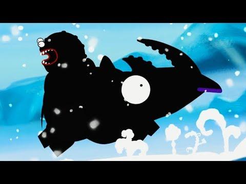 ЧЕРВЯК ПИП в ЛЕДЯНОМ МИРЕ Игровой мультик про червяка Видео для детей Karma. Incarnation 1