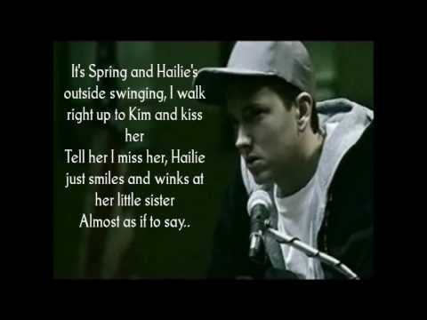 When I'm Gone - Eminem Lyrics video