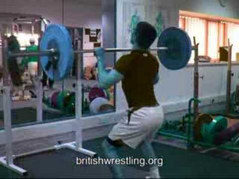 Freestyle Wrestling English Institute of Sport Promo Clip Image 1
