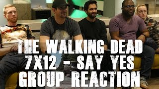 The Walking Dead - 7x12 Say Yes - Group Reaction
