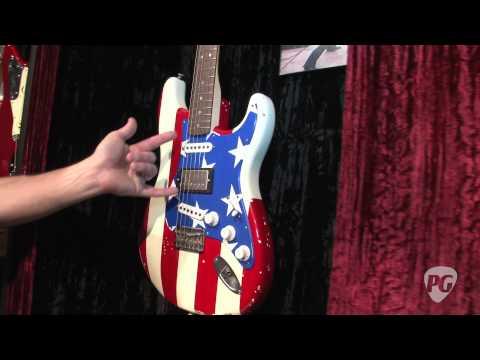 NAMM '11 - Fender MC5 Wayne Kramer Signature Stratocaster