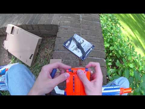 Review: Nerf Elite Alpha Trooper CS-12 and sneak peek