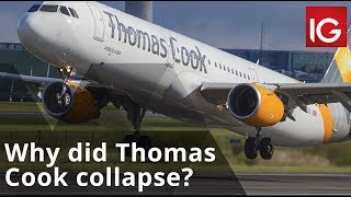 Why did Thomas Cook collapse?