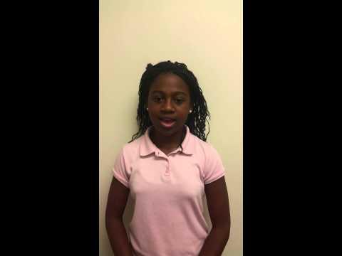 Destiny Dixon - 6th Grade Treasurer
