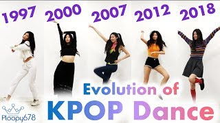Evolution of KPOP dance (Iconic KPOP dances through the years)