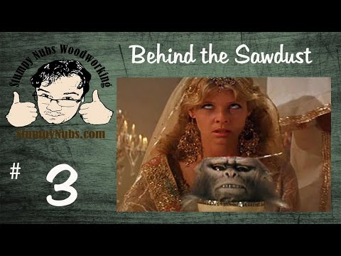 Behind the Sawdust #3- 1/31/15 Sawstop table saw review. Tormek bench grinder tool rest giveaway #2