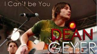 Watch Dean Geyer Cant Be You video