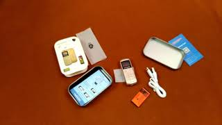 Kechaoda A26 - World Smallest Mobile Phone unboxing and review