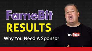 Live - Why You Need a Sponsor for Your YouTube Channel - Famebit