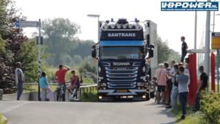 Santrans - sander intercooler Scania V8