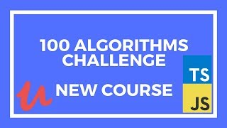 🔴 100 Algorithms Challenge NEW COURSE!!! How to Ace the JavaScript Coding Interview | Live Stream