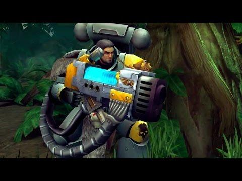 Warhammer 40,000: Space Wolf Gameplay Trailer