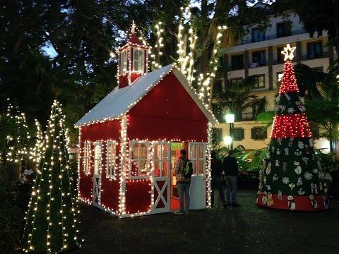 ILUMINA��ES DE NATAL FUNCHAL MADEIRA 2014 - Christmas Time in Madeira Island
