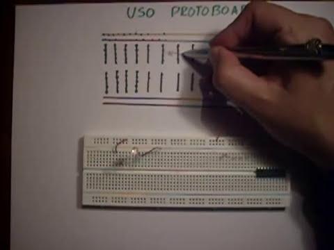 Protoboard, Como armar circuitos