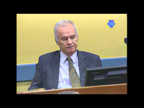 Raw Video: Mladic's Genocide Trial Under Way