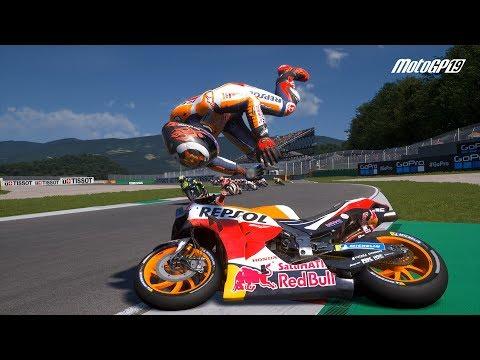 MotoGP 19 - Crash Compilation #3 (PC HD) [1080p60FPS]