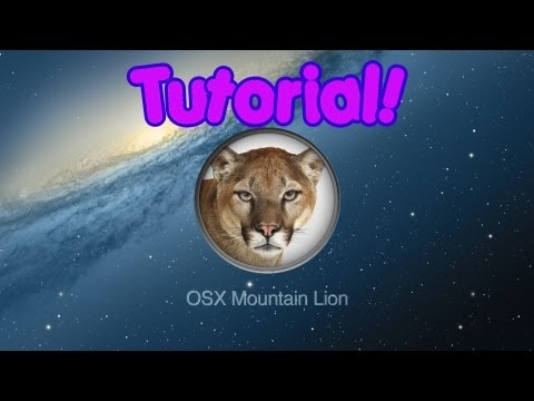 [TUTORIAL] Macintosh OS X Mountain Lion 10.8.2 on AMD Processor! (Hackintosh) [Dual-Boot]