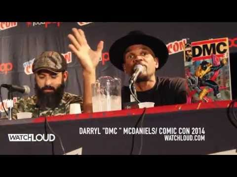 DMC Talks Hip-Hop Comic Connection At NY Comic Con 2014