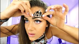 How I do my makeup for COACHELLA 2018!!!