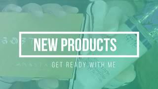 NEW PRODUCTS GRWM ~ Anastasia Soft Glam & Tarte Shape Tape Foundation