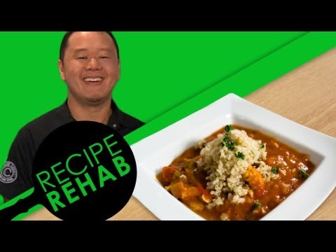 Chef Jet's Light Seafood Gumbo Recipe I Recipe Rehab I Everyday Health