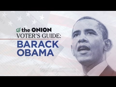 The Onion Voter's Guide To Barack Obama