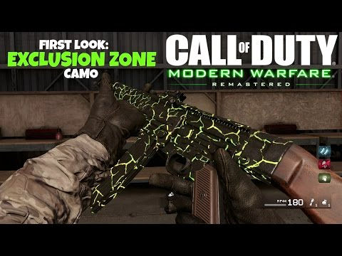 Exclusion Zone Camo First Look (CoD:MWR)