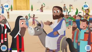 Bible for kids | The donkey and the king | Funny Games