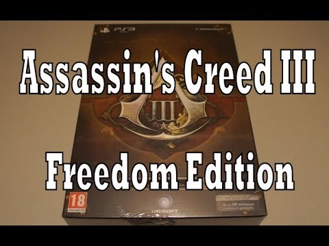 Assassin's Creed III Freedom Edition Unboxing & Review (Playstation 3)