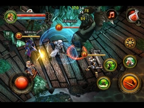 Dungeon Hunter 4 Android Gameplay First Look
