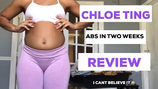 ABS IN TWO WEEKS! I TRIED CHLOE TING AB WORKOUT CHALLENGE **OUCH ITS BRUTAL**