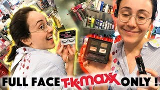sorry EKLIG 🤢 Full Face Using Only TK MAXX Makeup | unhygienisch sein Uronkel 😂 | Hatice Schmidt