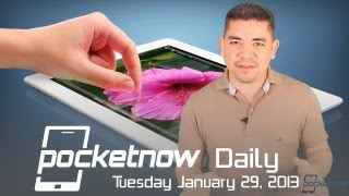 iPad 5 Leaked Images, HTC M7 Event Invites, Nexus 4 Back On Sale & More - Pocketnow Daily
